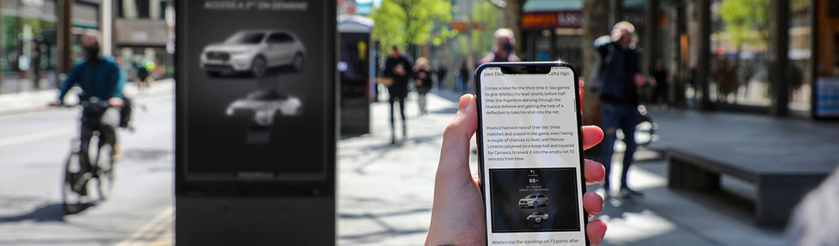 mobile and out of home advertising