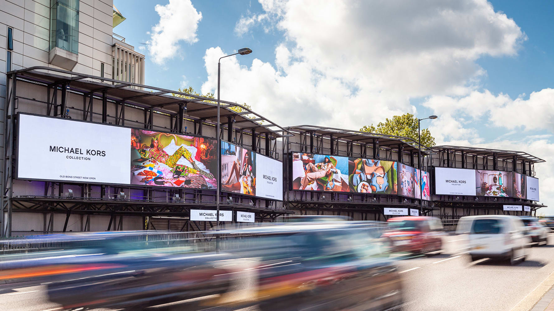 Cromwell Road domination of 6 digital billboards in a row