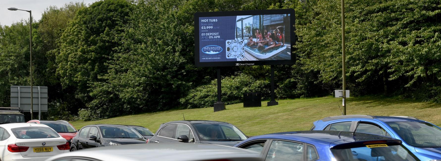 Billboard Live Screen in Edinburgh