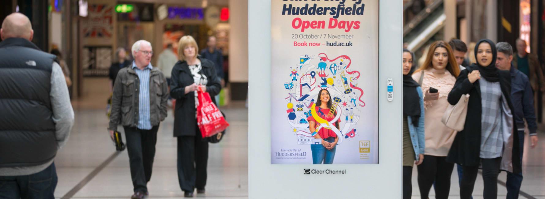 Malls Live Screen in Huddersfield