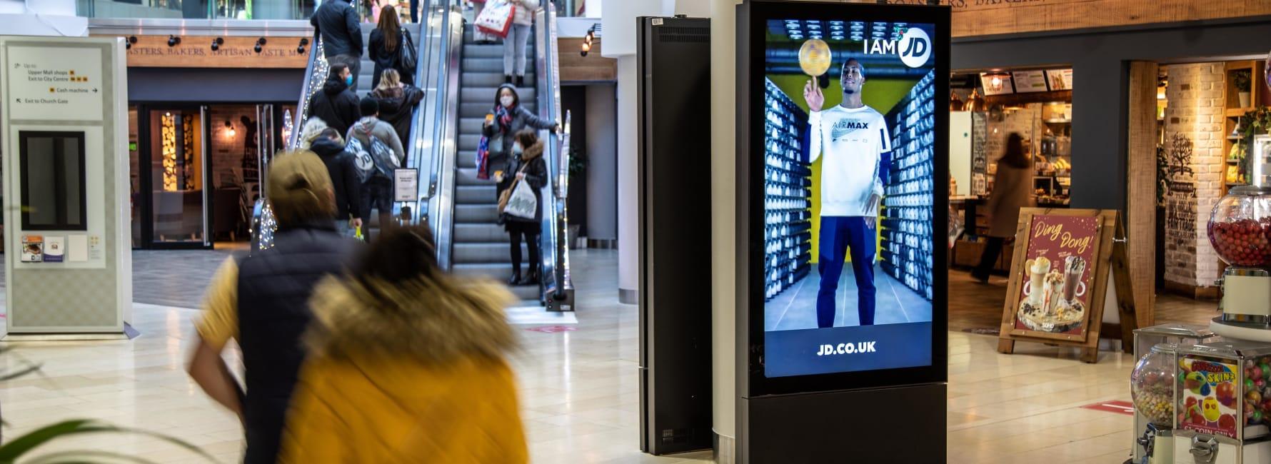 Malls Live Screen in Birmingham