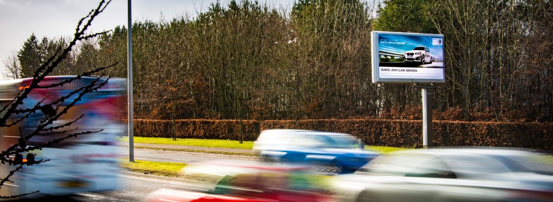 Billboard Site in Aberdeen