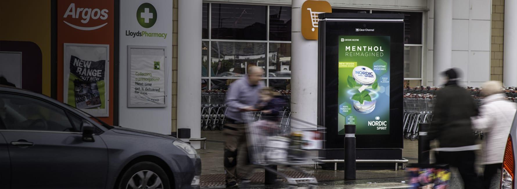 Sainsbury's Live Screen in Peterborough