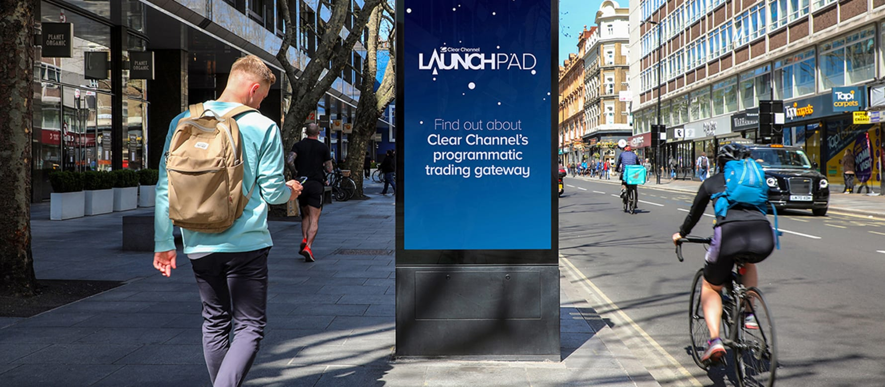 Clear Channel LaunchPAD OOH