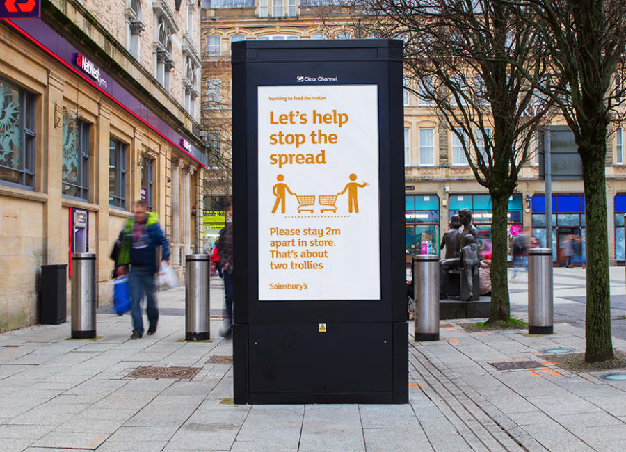 Sainsbury's - Let's stop the spread