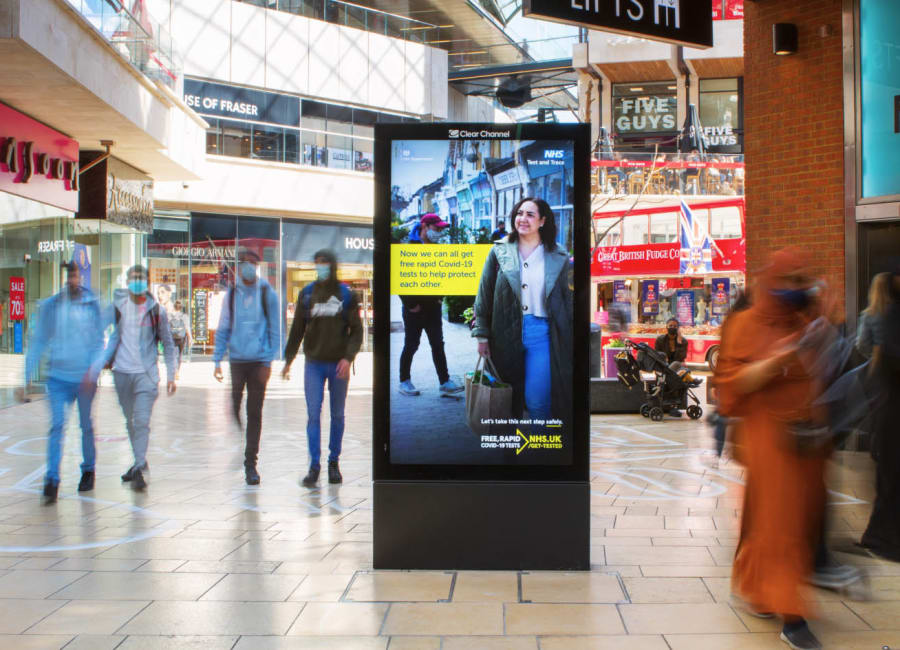 Malls Live Screen in East England