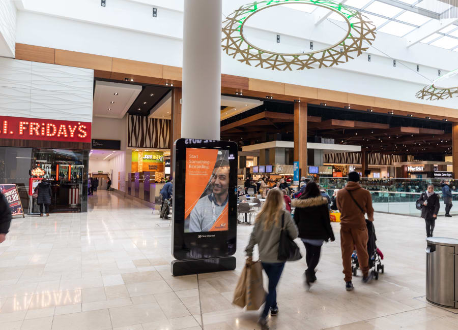 Malls Live Screen in Derby