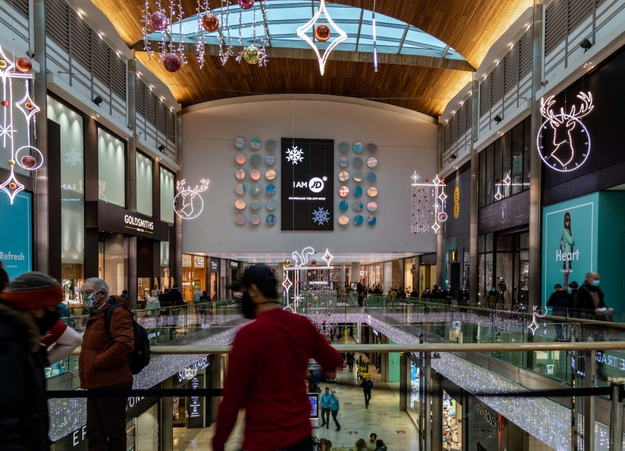 Malls Live XL Screen in Leicester