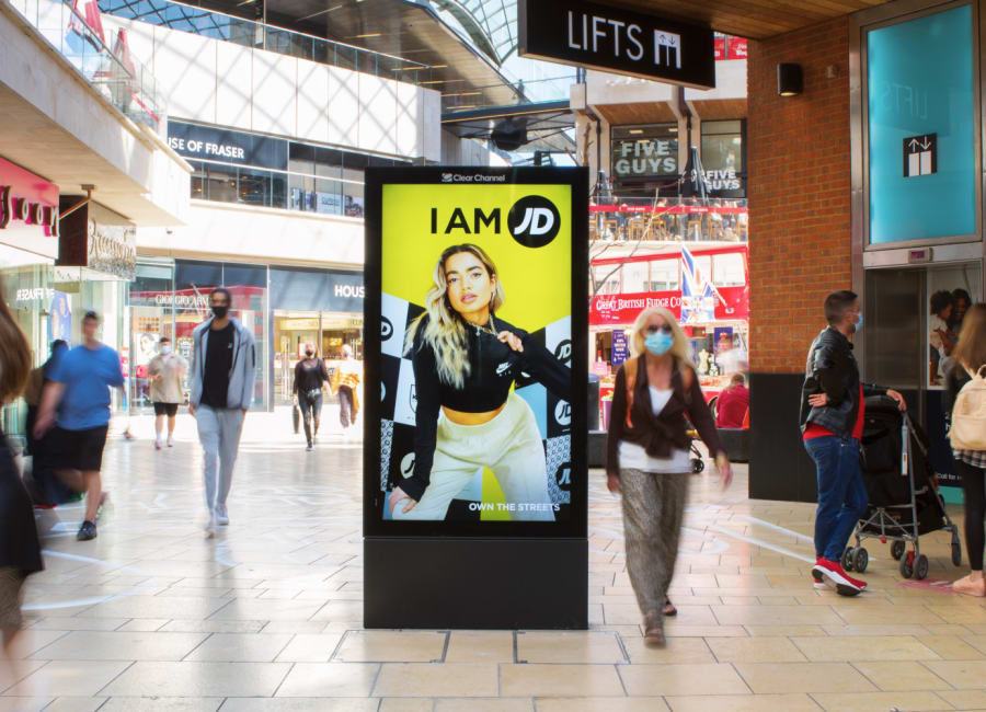Malls Live Screen in Bristol