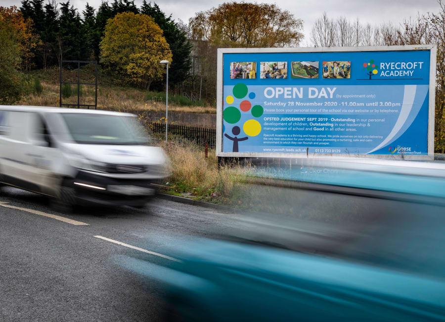 Billboard Site in Bradford