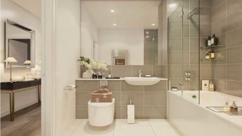 Picture of Sheldon's Reach bathroom