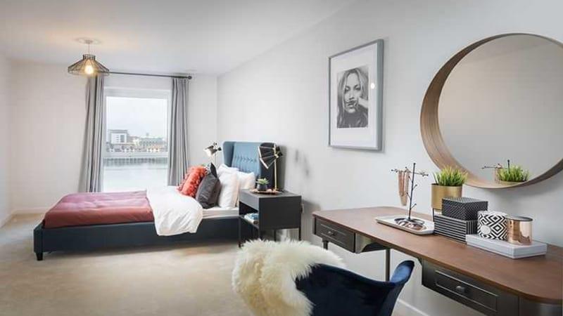 Centenary Quay bedroom