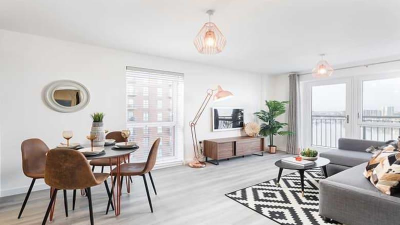 Centenary Quay living room