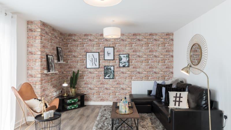 Hanbury Place - Living room