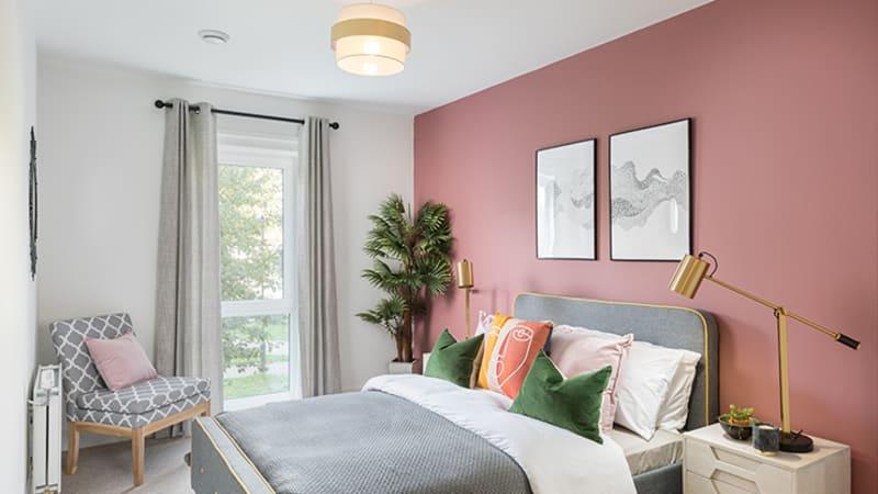 Spectrum master bedroom