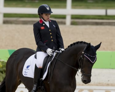 World Equestrian Games 2020.Paralympicsgb Para Dressage Squad For World Equestrian