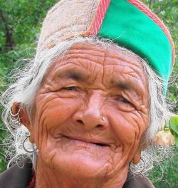 Wrinkled Lady