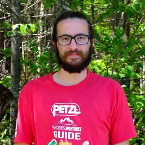 Photo de Félix-Antoine Pilote, guide de via ferrata chez Parcours Aventures