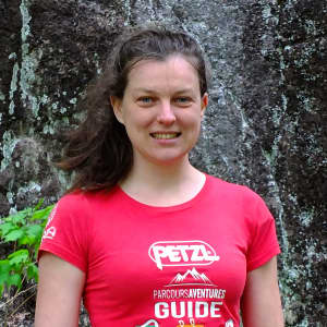 Photo de Laurie Gravel-Trottier, guide de via ferrata chez Parcours Aventures