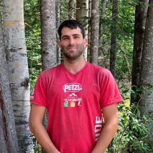 Photo de Jeremy Ledoux, guide de via ferrata chez Parcours Aventures
