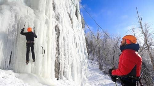 Photo du cours Initiation à l'escalade de glace