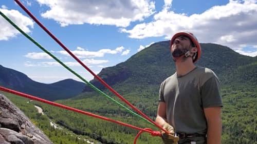 Photo du cours Premier de cordée Multi-longueur