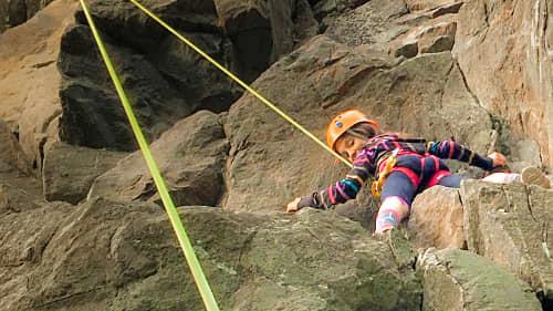 Photo de l'activité Camp de jour escalade de roche 7-10 ans