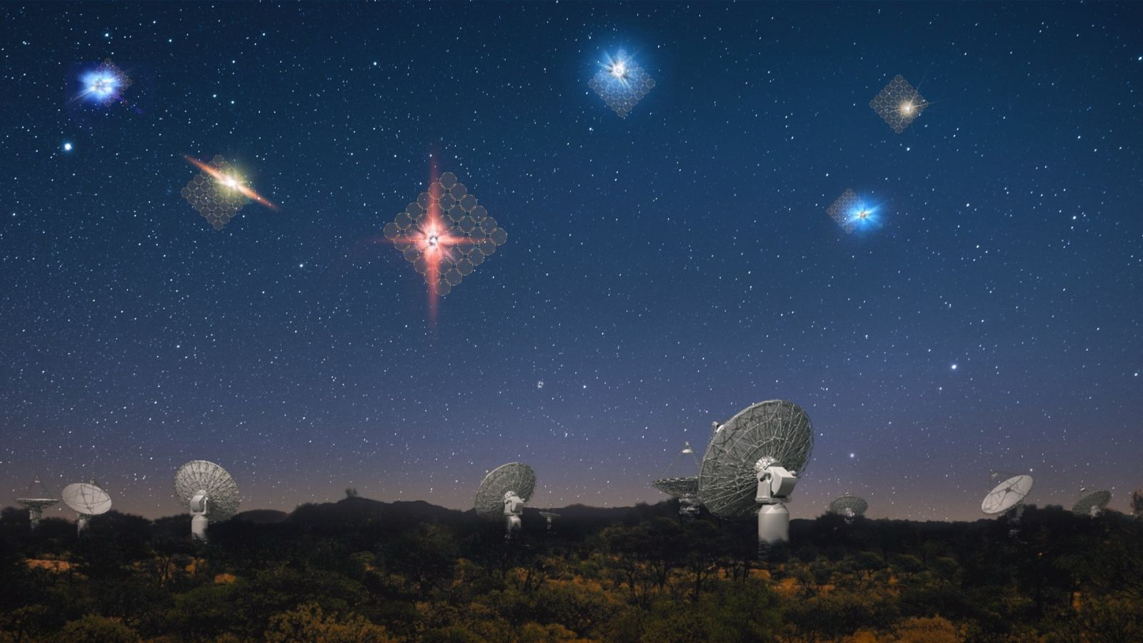Galactic gas: A bump in the radio road