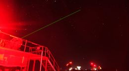 There's a NASA space laser in my backyard