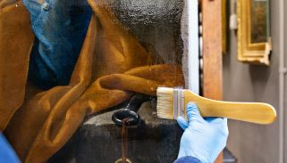 The varnishing point: Where science meets art