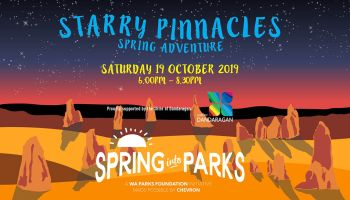 Spring into Parks Starry Pinnacles Spring Adventure