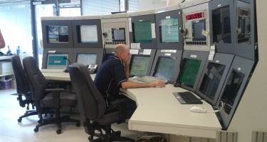 New Norcia station control room . Credit: ESA/Inmarsat
