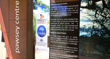 "Outside the centre, snippets of its history are displayed proudly. The Pawsey Supercomputing Centre was able to reach its impressive petascale status thanks to $80 million dollars from the federal government as part of their Super Science Initiative.  Today, Pawsey Supercomputing Centre supports national scientific research by providing high-powered computing facilities and expertise to Aussie researchers.  ""We're not an IT centre, we're actually here to support science – we just happen to have the sexiest IT equipment that many people have ever seen"" Neil chuckles ."