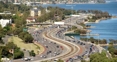 Kwinana freeway traffic. Credit: Orderinchaos