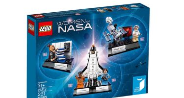 Women of NASA is the newest box set to come from the LEGO Ideas programme. Credit: LEGO Ideas