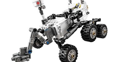 The LEGO® NASA Mars Science Laboratory Curiosity Rover . Credit: LEGO Ideas
