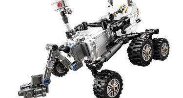 The LEGO® NASA Mars Science Laboratory Curiosity Rover. Credit: LEGO Ideas