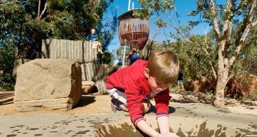 The perfect place to make a mud pie . Credit: Kings Park and Botanic Garden