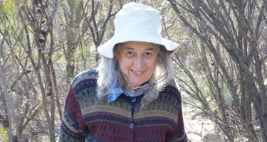 """Adjunct ProfessorBarbara York Main—the """"little old lady"""" who shaped Leanda's career and life forever . Credit: Grant Wardell-Johnson"""