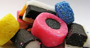 It's most familiar as an allsorts, but liquorice can also be made into a tea . Credit: Leo Reynolds