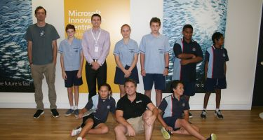 CoderDojo participants from Capalaba State College . Credit: ©Barayamal