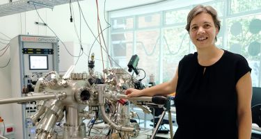 Michelle Simmons leads a team in the race for a quantum computer. . Credit: AOTY/UNSW