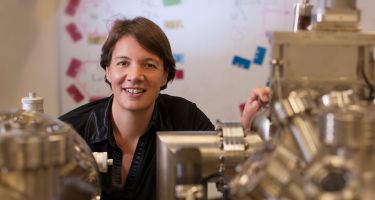 She is pushing the boundaries of atomic electronics. . Credit: AOTY/UNSW