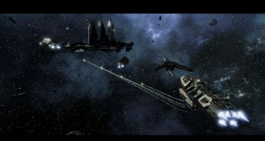 The Broken Alliance DLCadds eight new missions to the story ofBattlestar Galactica: Deadlock… . Credit: Black Lab Games