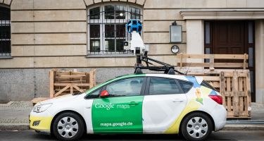 The Google Street View car roves the streets taking images with its many cameras… .