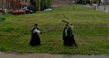 …Embarrassing and illicit images have been recorded by a Google Street View car . Credit: Google