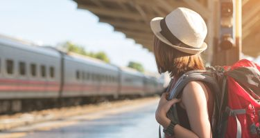 …and navigating a foreign train system with a backpack may make you a stronger person. .