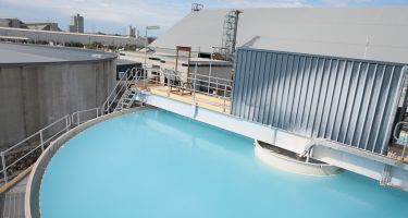 The Perth Seawater Desalination Plant in Kwinana . Credit: Water Corporation