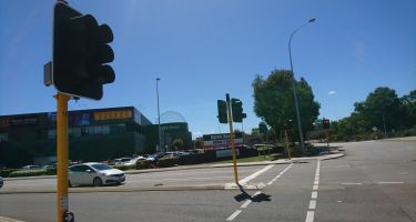 Perth's first traffic signals were installed on the corner of Railway and Sutherland St, outside what is now Perth's favourite science centre. .