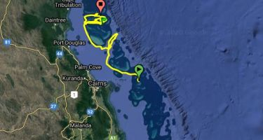… and the other is on the Great Barrier Reef. You can follow their journeys online here. .